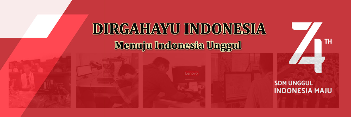 DIRGAHAYU INDONESIA KE 74TH
